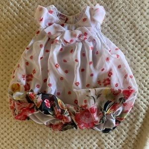 Other - Baby girl floral romper
